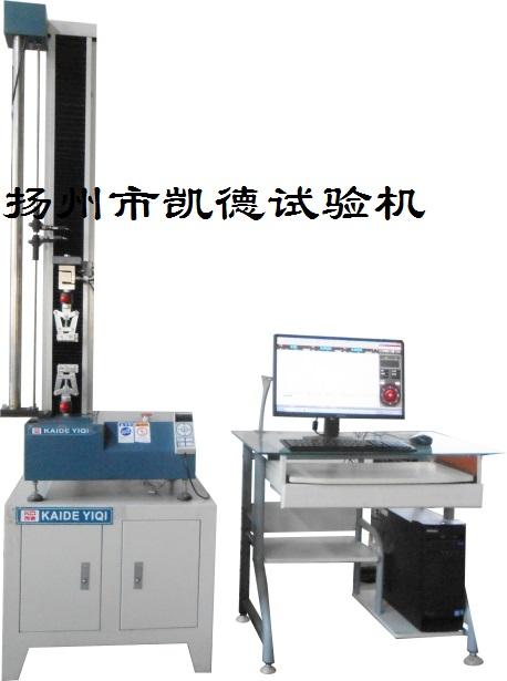 怎么用拉力试验机检测橡胶材料的标距?